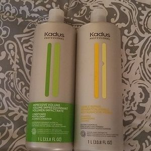 Kadus professional shampoo and conditioner
